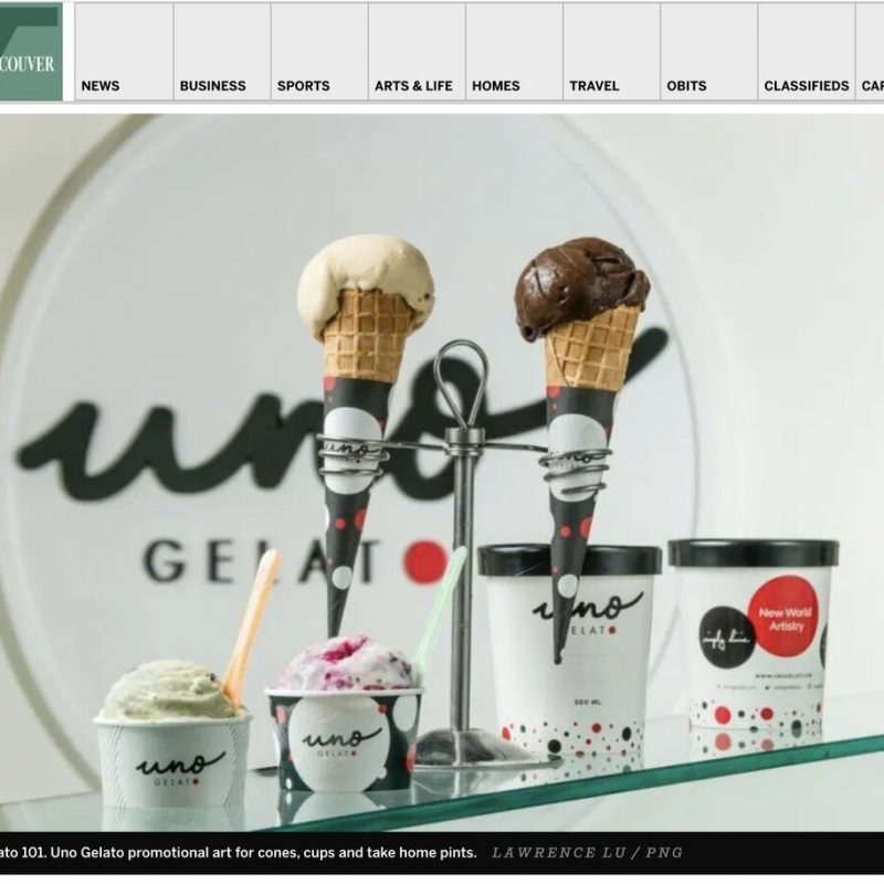 Vancouver Sun Schooled on gelato, seminars are sweet and educational