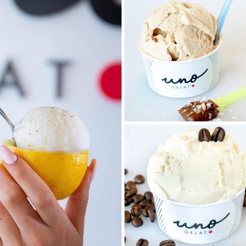 uno gelato collage